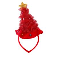 KullanAtMarket Kırmızı Şapkalı Yılbaşı Taç