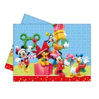 KullanAtMarket Mickey Yılbaşı Plastik Masa Örtüsü 120X180Cm