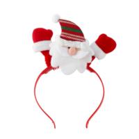 KullanAtMarket Işıklı Noel Baba Yılbaşı Taç