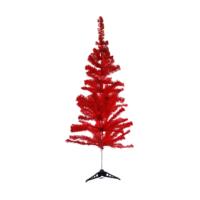 KullanAtMarket Kırmızı Yılbaşı Çam Ağacı 120 Cm 110 Dal