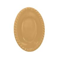 KullanAtMarket Altın Oval Kase