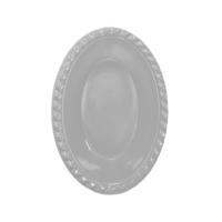 KullanAtMarket Gümüş Oval Kase