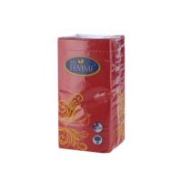 KullanAtMarket Kağıt Katlı Peçete Kırmızı 33Cmx33Cm