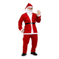 Kullanatmarket Noel Baba Lüks Erkek Kostüm