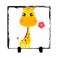 Fotografyabaski Bebek Zürafa - Kare Taş 15X15Cm