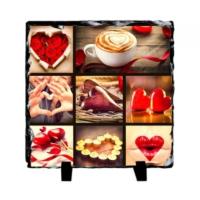 Fotografyabaski Valentines - Kare Taş 15X15Cm