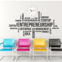 Entrepreneurship OFS-43 Duvar Sticker (Sticker Hediyeli)