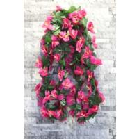Yapay Çiçek Deposu Yapay Çiçek ( Çiçekli Sarmaşık Fuşya)