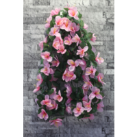 Yapay Çiçek Deposu Yapay Çiçek ( Çiçekli Sarmaşık Pembe)