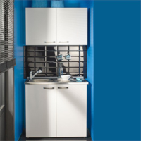 Fly Çelik Evyeli Mini Mutfak Dolabı
