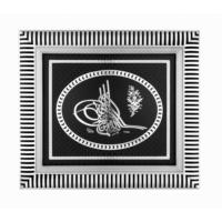 Ceptoys Osmanlı Tuğrası 29X33 Cm. Gümüş
