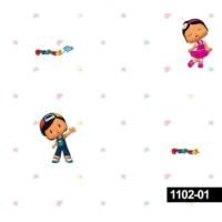 Deco Kids 1102-01 Çocuk Odası Pepe Duvar Kağıdı