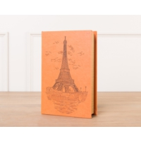 Madame Coco Eiffel Ahşap Kitap Kutusu