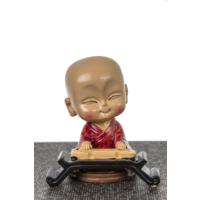 Samuray Kumbara \ Dekoratif Biblo - Kırmızı 13X14