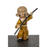 Dekoratif Samuray Biblo - Sarı 11X19