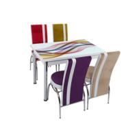 Osmanlı Mutfak Masa Takımı Masa + 4 Lale Sandalye Aliza