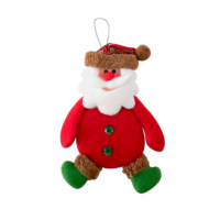 KullanAtMarket Noel Baba Peluş Asma Süs