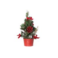 KullanAtMarket Mini Kırmızı Yılbaşı Çam Ağacı 20 cm