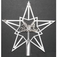 Merry Christmas Yıldız Tepelik 18 cm