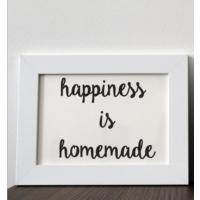 Mio's Happiness İs Homemade Çerçeve