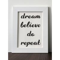 Mio's Dream, Believe, Do, Repeat Çerçeve