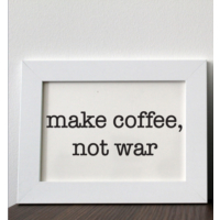 Mio's Make Coffee Çerçeve