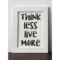 Mio's Think Less Live More Çerçeve