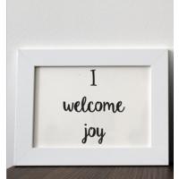 Mio's I Welcome Joy Çerçeve