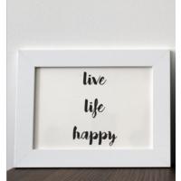 Mio's Live Life Happy Çerçeve