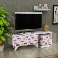 Pegai Elegance puflu tv kumaş kaplamalı pg015