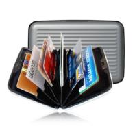 BlueZen Alüminyum Görünümlü Kredi Kartlık Cüzdan