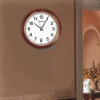 Time Gold Maun Bombe Camlı Duvar Saati