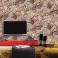 Bien Wallpaper 8830 Taş Desen Duvar Kağıdı