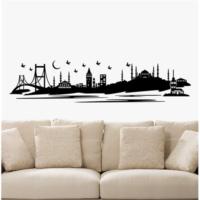 İstanbul Kadife Duvar Sticker 195X45 Cm