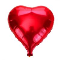 Elitparti Kırmızı Kalp Folyo Balon