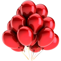Elitparti Metalik Kırmızı Balon (100 Adet)