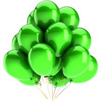 Elitparti Metalik Yeşil Balon (5 Adet)