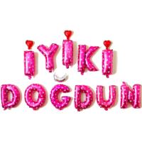 Elitparti İyiki Doğdun Pembe Folyo Balon (40 cm)