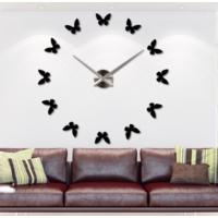 Dıy Clock Yeni Nesil 3D Duvar Saati model 6