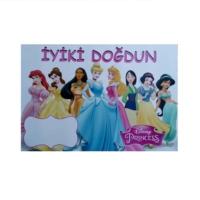 Partypark Prensesler Doğum Günü Afiş