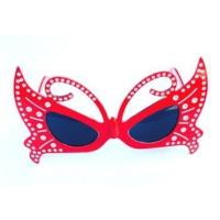 Partypark Kelebek Parti Gözlüğü-Kırmızı