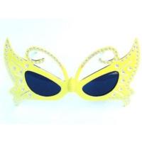 Partypark Kelebek Parti Gözlüğü-Sarı