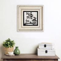 Çerçeveli Taş Duvar Dekoru /Cdd-30-028