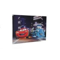 avrasya poster Cars Şimşek Mcqueen Led Işıklı Kanvas Tablo 60x90
