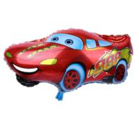 Qr Party Cars Arabalar Dev Aluminyum Folyo Balon 65Cm Kırmızı