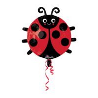KullanAtMarket Uğur Böceği JuniorShape Folyo Balon 45cm