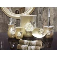 Byselim Frida İnci Polyester Banyo Seti