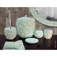 Byselim Rose Mint Polyester Banyo Seti