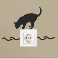 Cat Priz Sticker PRZ04