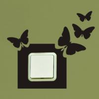 Kelebek Priz Sticker PR09